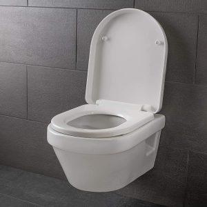 Abattant wc frein de chute